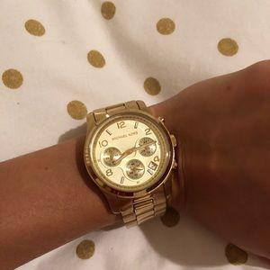 Michael Kors gold watch!